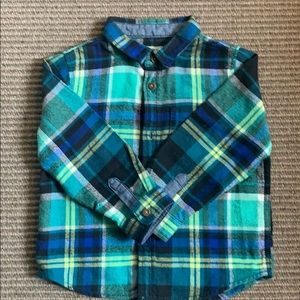 Boy's flannel